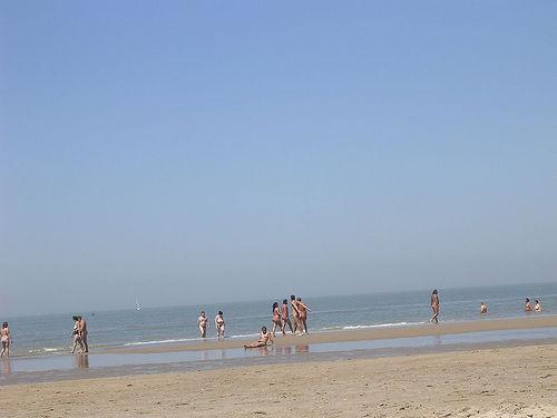 Belgium Bredene Nude Beach