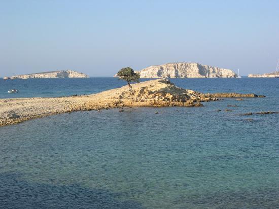 Monodendri beach, Lipsi