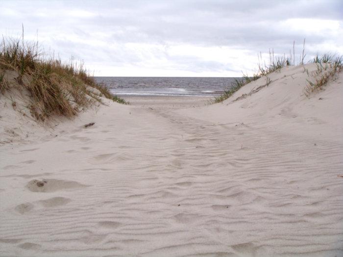 Parnu beach