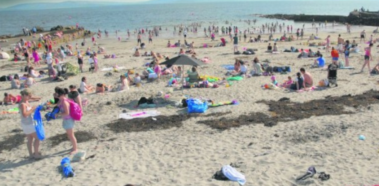Silver Strand Beach in Galway